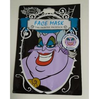 ディズニー(Disney)のディズニー ヴィランズ アースラ フェイスマスク(パック / フェイスマスク)
