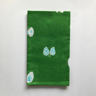ミナペルホネン(mina perhonen)のミナペルホネン hana hane 手ぬぐい グリーン(バンダナ/スカーフ)