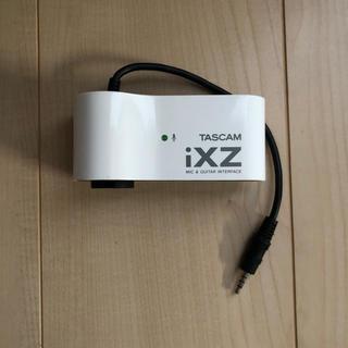 TASCAM iXZ iPhone、iPad用サウンドインターフェース(オーディオインターフェイス)