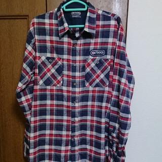 アウトドア(OUTDOOR)のアウトドア チェックシャツ(シャツ)