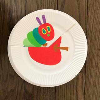 紙皿シアター   はらぺこあおむし❣️  ハンドメイド   保育(その他)