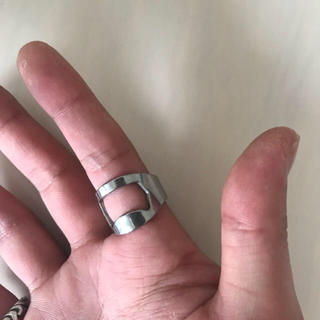 栓抜きリングレアサイズ約19号ファッションリングに(リング(指輪))