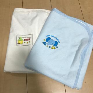 ニシマツヤ(西松屋)のベビー布団 おねしょ シーツ 防水 シート(ベビー布団)