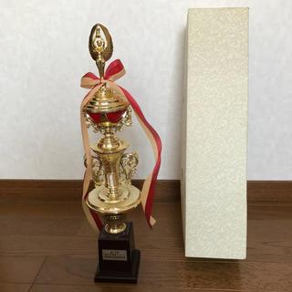 トロフィー 表彰式 表彰 表記事項あり 箱付き 記念品 グッズ 中古(その他)