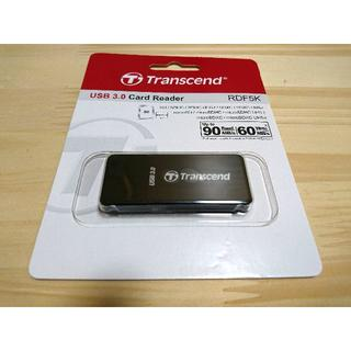 Transcend USB 3.0 カードリーダー TS-RDF5K