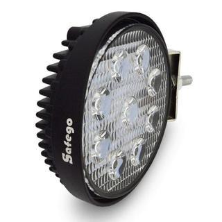 【本日★限定】LED 作業灯/ワークライト 丸形 広角タイプ 9連LED(蛍光灯/電球)