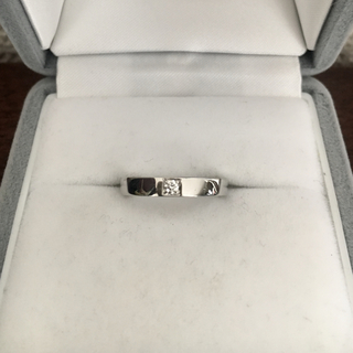 ブルガリ(BVLGARI)のブルガリ ダイヤモンド 1p マリーミー リング Pt950 5.2g(リング(指輪))