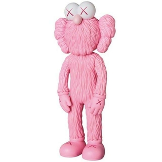 MEDICOM TOY - KAWS BFF OPEN EDITION PINK