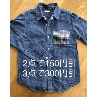 ジーユー(GU)のGU キッズ シャツ 140cm(Tシャツ/カットソー)