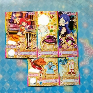 タカラトミーアーツ(T-ARTS)のキラッとプリ☆チャン ことりし様専用商品 5枚セット マイチケ(カード)