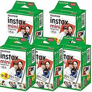 フジフイルム(富士フイルム)の富士フィルム チェキ フィルム インスタックスミニ 2パック×5箱 100枚(フィルムカメラ)
