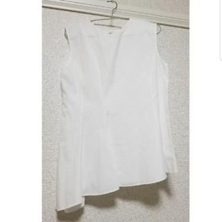 ニジュウサンク(23区)のフレアノースリーブトップス(カットソー(半袖/袖なし))