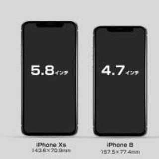 アイフォーン(iPhone)のiPhoneXSフロントパネル iPhone液晶画面ガラス(スマートフォン本体)