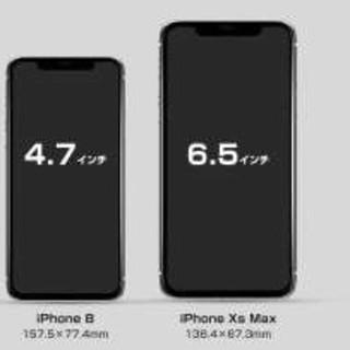 アイフォーン(iPhone)のiPhoneXS MAXフロントパネル iPhone液晶画面ガラス(スマートフォン本体)