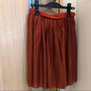 アダムエロぺ(Adam et Rope')のタグ付き新品 RIVE DROITE スカート(ひざ丈スカート)