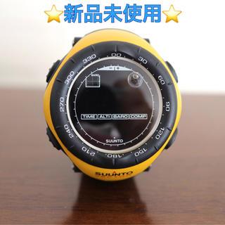 スント(SUUNTO)の新品未使用 SUUNTO vecter yellow スント ベクター イエロー(腕時計(デジタル))