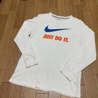 ナイキ(NIKE)のナイキ ロンT JUST DO IT Lサイズ(Tシャツ(長袖/七分))