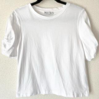 ザラ(ZARA)の美品♡Tシャツ ホワイト(Tシャツ(半袖/袖なし))