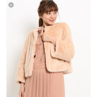 クチュールブローチ(Couture Brooch)のテディファーショートコートクチュールブローチ(毛皮/ファーコート)
