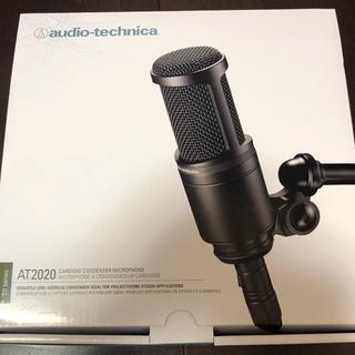 オーディオテクニカ(audio-technica)のaudio-technica AT2020コンデンサーマイク(マイク)