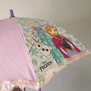 ディズニー(Disney)のキッズ 傘 アナと雪の女王 54cm 子供用 ジャンプ傘 ディズニー(傘)