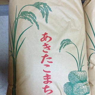 【北海道まみ様 専用】平成30年度あきたこまち精米25(米/穀物)
