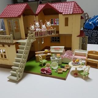 エポック(EPOCH)のあかりの灯る大きなお家 シルバニアファミリー(ぬいぐるみ/人形)