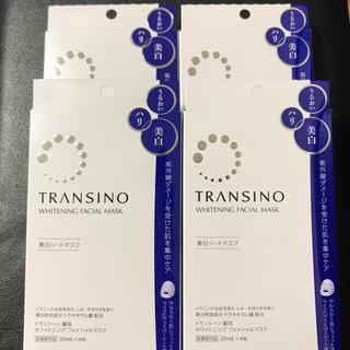 ダイイチサンキョウヘルスケア(第一三共ヘルスケア)のトランシーノ薬用ホワイトニングフェイシャルマスク(パック / フェイスマスク)