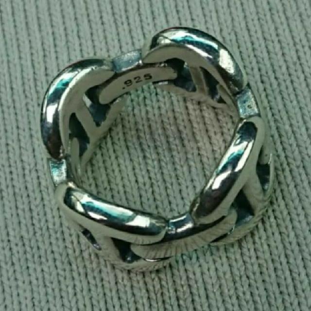 Ron Herman(ロンハーマン)のHOORSENBUHS  ホーセンブース  トライリンク 10号  SV925  メンズのアクセサリー(リング(指輪))の商品写真