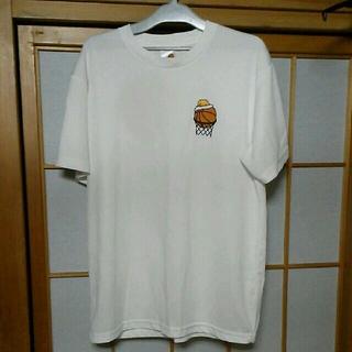 グデタマ(ぐでたま)のぐでたまバスケ Tシャツ(Tシャツ/カットソー(半袖/袖なし))