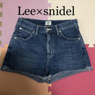 リー(Lee)のLee × snidel デニム ショートパンツ (デニム/ジーンズ)
