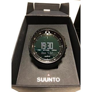 スント(SUUNTO)のSUUNTO CORE ALL BLACK 【美品】(腕時計(デジタル))