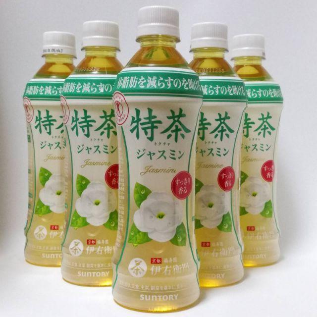■■■■訳あり 特茶 ジャスミン 500ml(特保)2箱(計48本) 食品/飲料/酒の飲料(茶)の商品写真