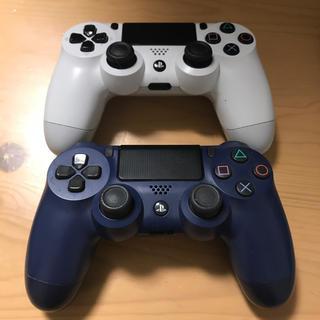 プレイステーション4(PlayStation4)のPS4コントローラー 2台 ジャンク品(その他)