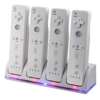 4台同時充電wii U/Wii用 リモコンバッテリー4個付USB充電(家庭用ゲーム本体)