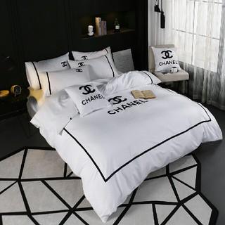 シャネル(CHANEL)の2019春夏新品 シャネル CHANEL ベッドセット 4点セット 寝具 人気(布団)
