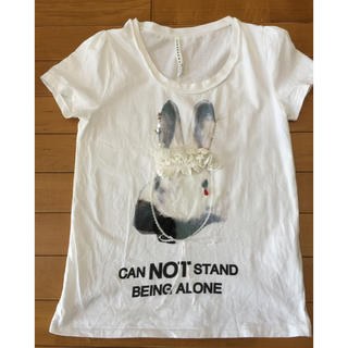 スナオクワハラ(sunaokuwahara)のsunaokuwahara ウサギTシャツ(Tシャツ(半袖/袖なし))