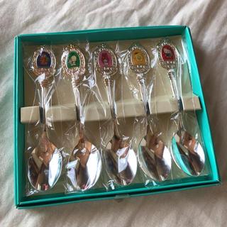 サンリオ(サンリオ)のサンリオ 銀製 スプーンセット 新品(カトラリー/箸)