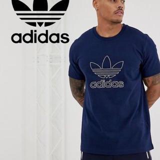 アディダス(adidas)の【新品】アディダス OUTLINE Tシャツ  M(USサイズ)(Tシャツ/カットソー(半袖/袖なし))