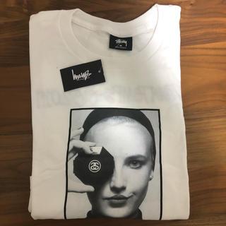 ステューシー(STUSSY)の★ Mサイズ★STUSSY CHANEL T-shirt white (Tシャツ/カットソー(半袖/袖なし))