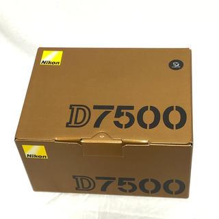 ニコン(Nikon)のNIKON デジタル一眼レフカメラ D7500 ボディ(デジタル一眼)