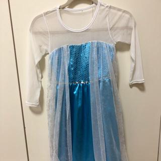 アナトユキノジョオウ(アナと雪の女王)のエルサドレス  110〜120センチ(ドレス/フォーマル)