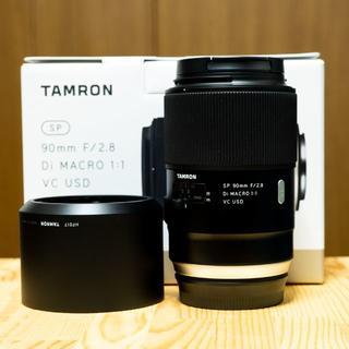 タムロン(TAMRON)のSP 90mm F/2.8 Di MACRO 1:1 Model F017(レンズ(単焦点))