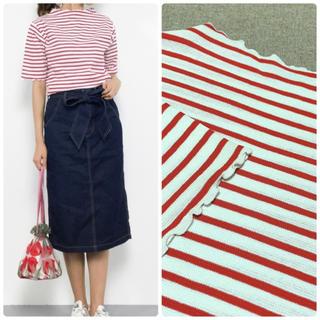 ドットアンドストライプスチャイルドウーマン(Dot&Stripes CHILDWOMAN)の2017SS Dot&Stripes CHILD WOMAN フリルプルオーバー(Tシャツ(半袖/袖なし))