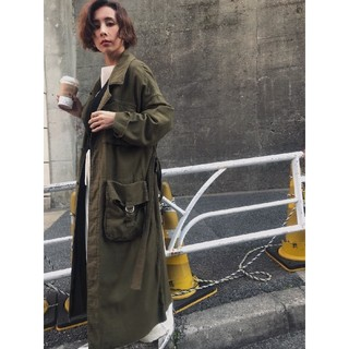 Ameri VINTAGE - アメリヴィンテージ ARMY POCKET LONG COAT
