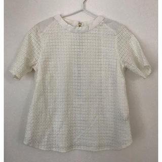 バンヤードストーム(BARNYARDSTORM)のバンヤードストーム   白 半袖 ブラウス(シャツ/ブラウス(半袖/袖なし))