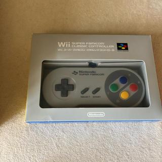 Wii - [美品]Wii スーパーファミコン クラシックコントローラ