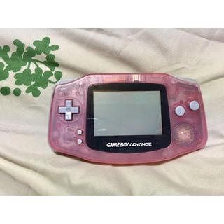 ゲームボーイアドバンス(ゲームボーイアドバンス)のゲームボーイアドバイス本体(携帯用ゲーム本体)