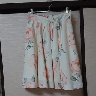 ジュジュエッタ(JugeETTA)のジュジュエッタ★春フラワースカート【売り切り】(ひざ丈スカート)
