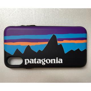パタゴニア(patagonia)のパタゴニア patagonia iPhoneケース アイフォンケース XS用(iPhoneケース)